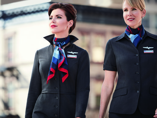 American Airlines uniform row heats up as maker lashes back - american airlines flight attendant sample resume