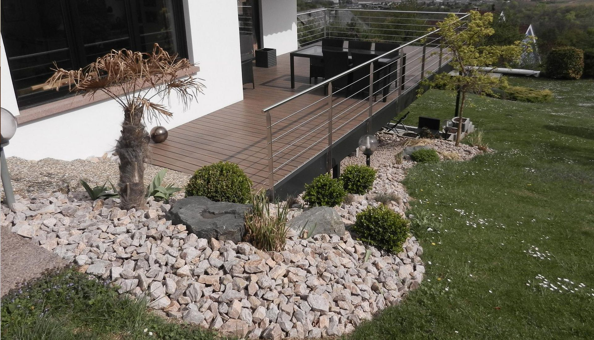 Amenagement terrasse exterieur bischoffsheim paysagiste for Amenagement terrasse jardin