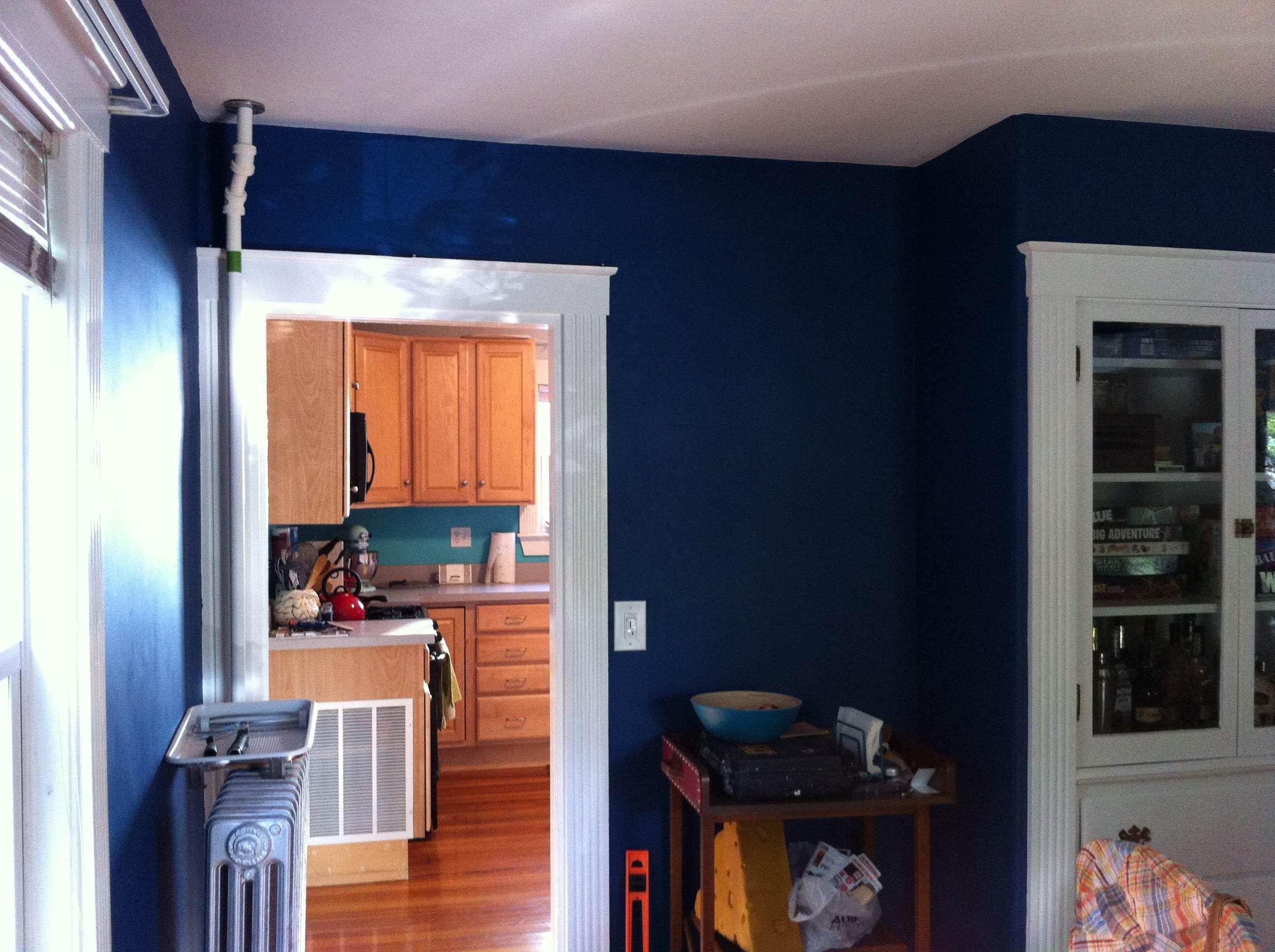 Behr deep blue sea Home decor, Blue bedroom, New homes