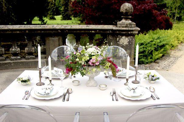 Fine Art Wedding Romantische Tischgestaltung Shabby Tischdeko