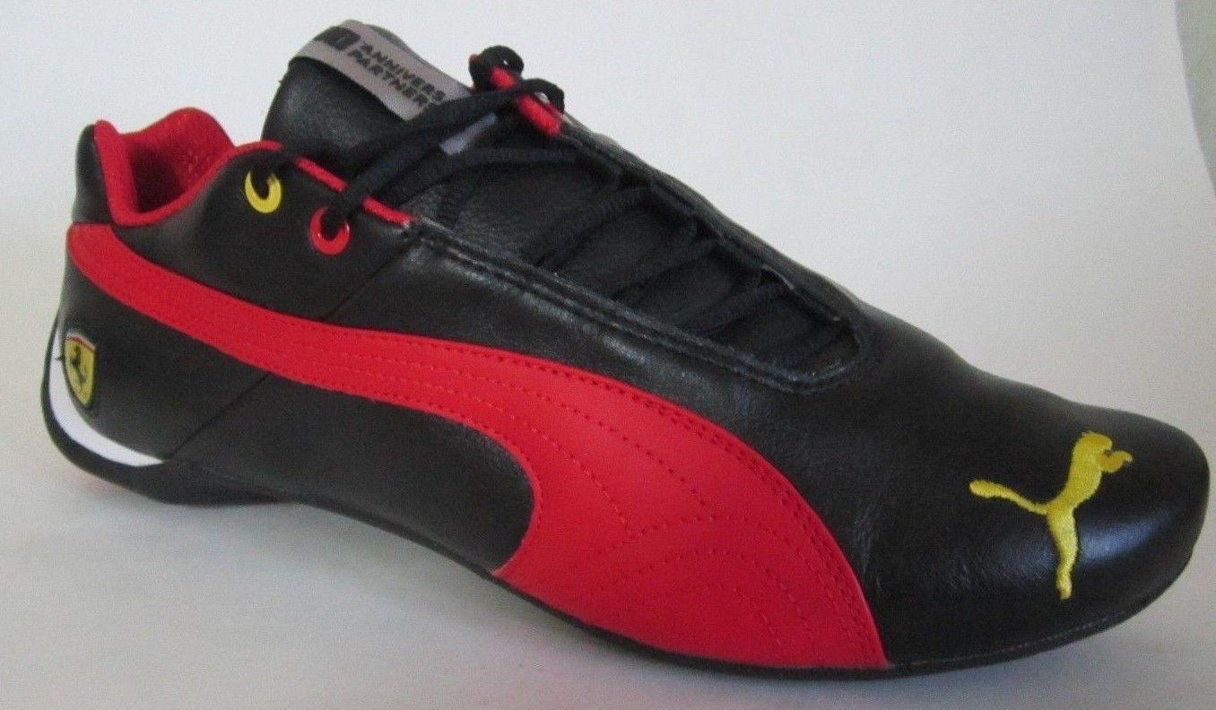 2a7e5d4cae8a Puma Future cat Leather Sf - 10 - Black Men Walking Shoes 11