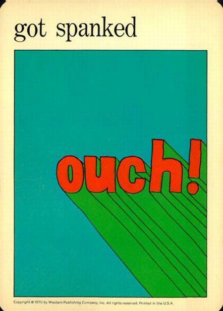 martin klasch: Illustration: Got Spanked