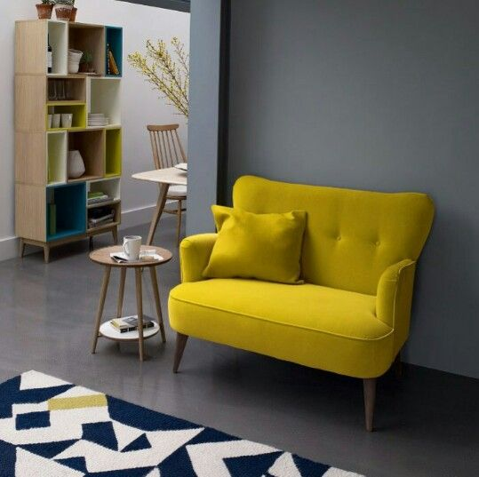 ... Walkable Hallway Or A Corner Space In Your Home That Doesnu0027t Have Much  Lighting Or Low Ceiling, Place A Pleasant Yellow Couch Or A Yellow Cozy  Chair.