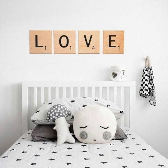 Poner letras en la habitacion bebe buscar con google - Letras habitacion bebe ...