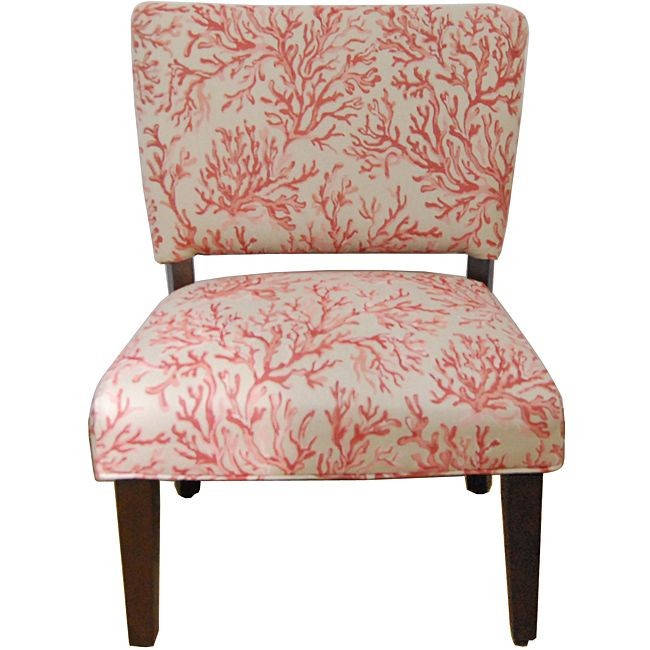 HomePop Floral Fabric Gigi Accent Chair by HomePop | Solid wood ...