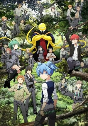 Assassination Classroom Movie Sub Indo : assassination, classroom, movie, Assassination, Classroom, Animasi,, Gambar, Anime,, Anime