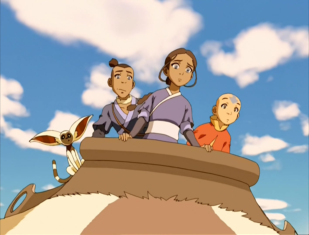 Anime Screencap And Image For Avatar The Last Airbender Book 1 Fancaps Net Avatar Aang The Last Airbender Avatar Picture