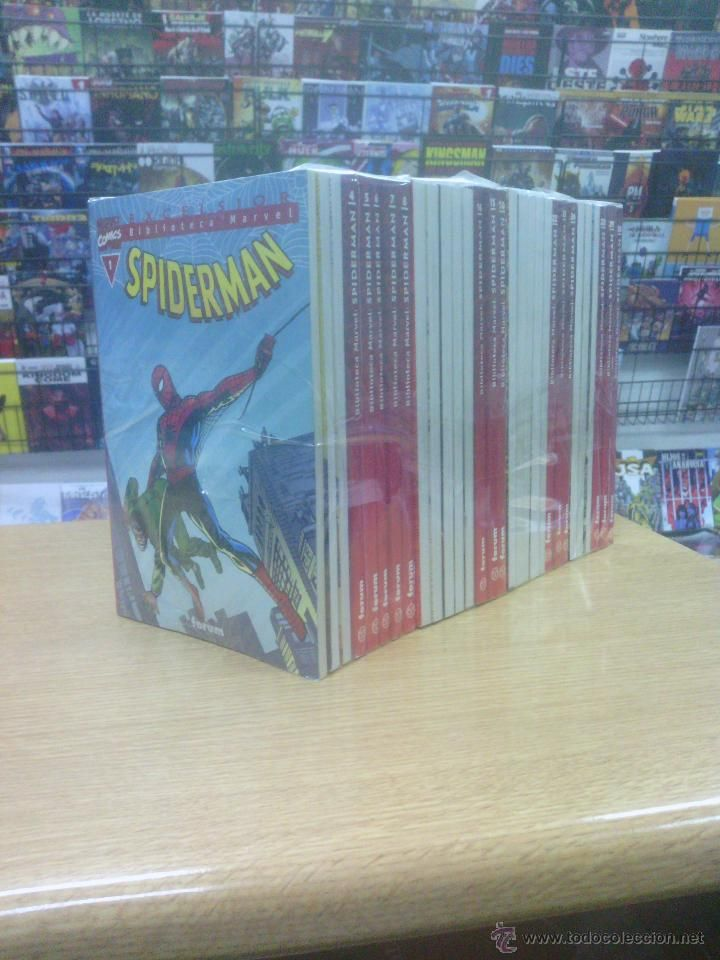 BIBLIOTECA MARVEL SPIDERMAN PACK (1 A 30 DE 47 - TODOS LOS DE FORUM) $125