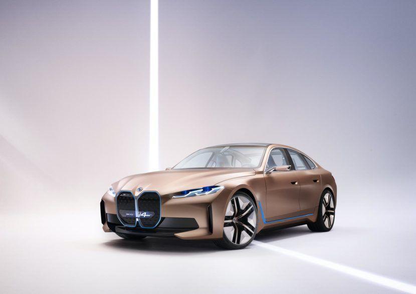 Photo Comparison Bmw I4 Concept Vs Audi E Tron Gt Concept In 2020 Bmw Concept Audi E Tron Bmw