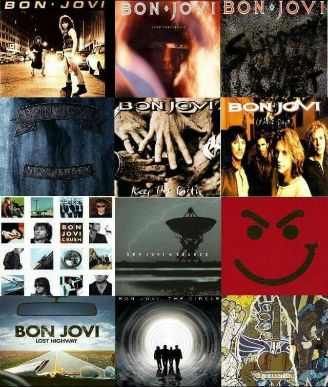 Bon Jovi Bon Jovi Album Jon Bon Jovi Bon Jovi Crush