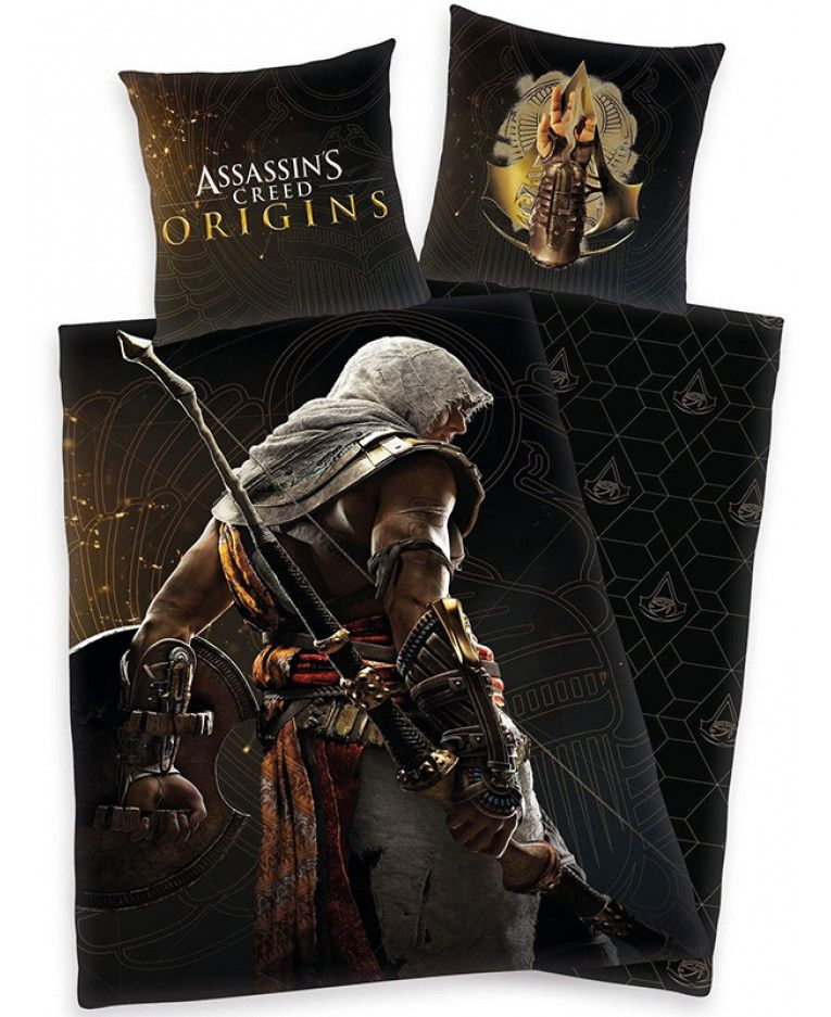Assassin S Creed Origins Single Duvet Cover And Pillowcase Set