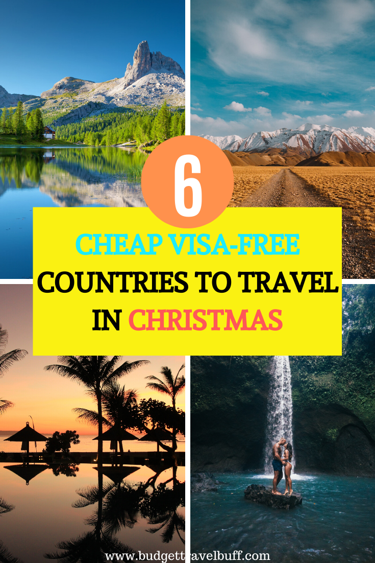 6 Cheap Visa Free Countries to Visit from India | Best countries to visit,  Countries to visit, Winter travel destinations