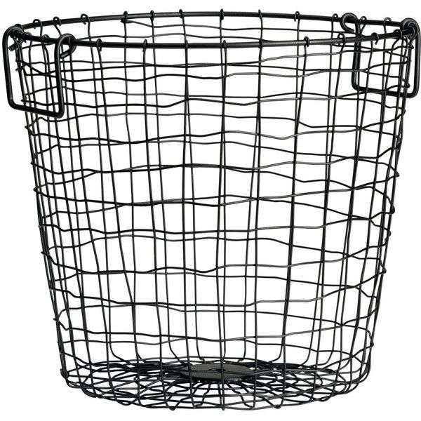 H&M Large Wire Basket $9.99 (€8,10) ❤ liked on Polyvore featuring ...