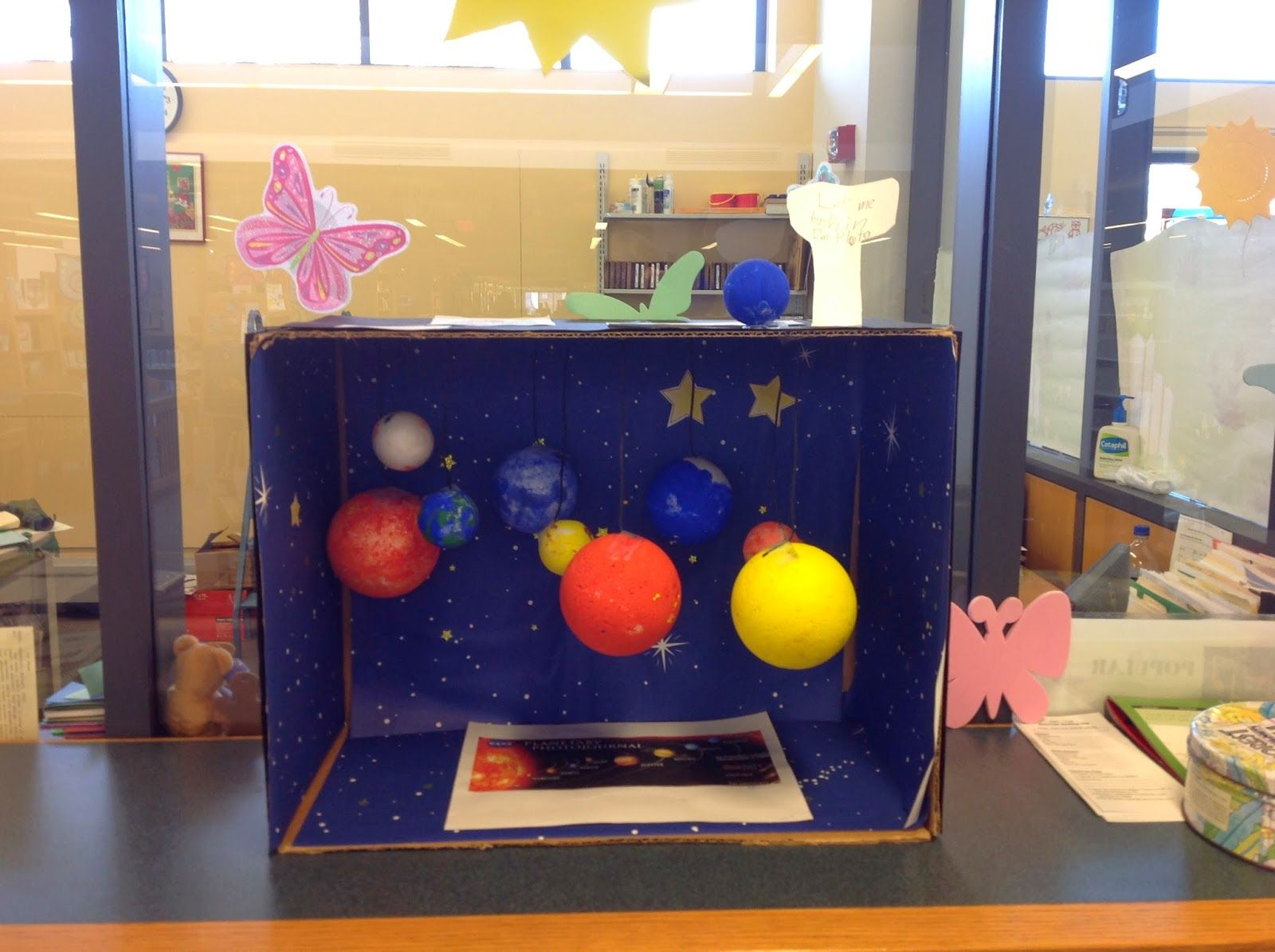Outer Space Diorama Ideas Google Search Diorama Ideas