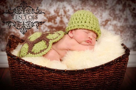Turtle newborn outfit. Soo cute. Don't know why I love it so much!  Luckily my mom is going to crochet it for me so I don't have to spend $40!!