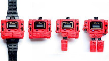Reloj transformer | Old school toys, Transformers, Vintage toys