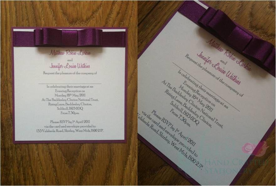 Cadburys Purple Heart cluster embellishment Post Card