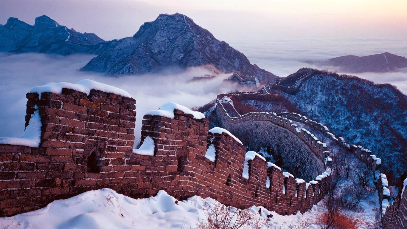 bing fotos snow on the great wall beijing china on great wall id=38542