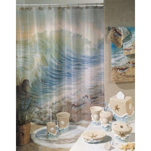 Marvelous Sea Shower Curtains | Ocean Themed Shower Curtains | Hanging Beauty