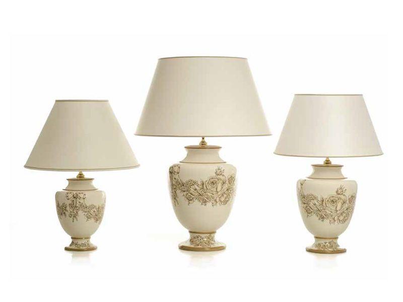 Las lámparas de sobremesa y forma de ánfora Amsterdam tienen un ...