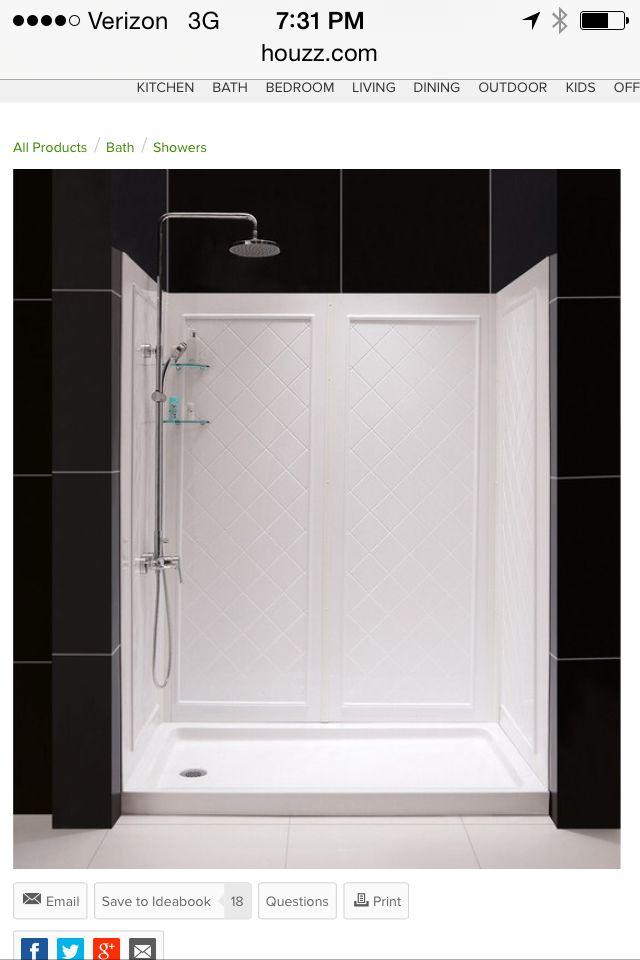 Shower stall on Houzz.com less than $800   Dreamline ...