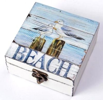 Boxes For Decoration And Crafts Beauteous Coastal Decor Ideas Nautical & Beach Decorating & Crafts New Inspiration