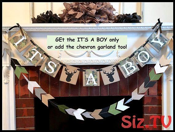 Lil Buck Baby shower decoration Camo Oh Deer Baby shower garland Camo Banner Hunting Its A Boy decorations Hunting Camp banner Lil Buck Baby shower decoration Camo Oh Dee...