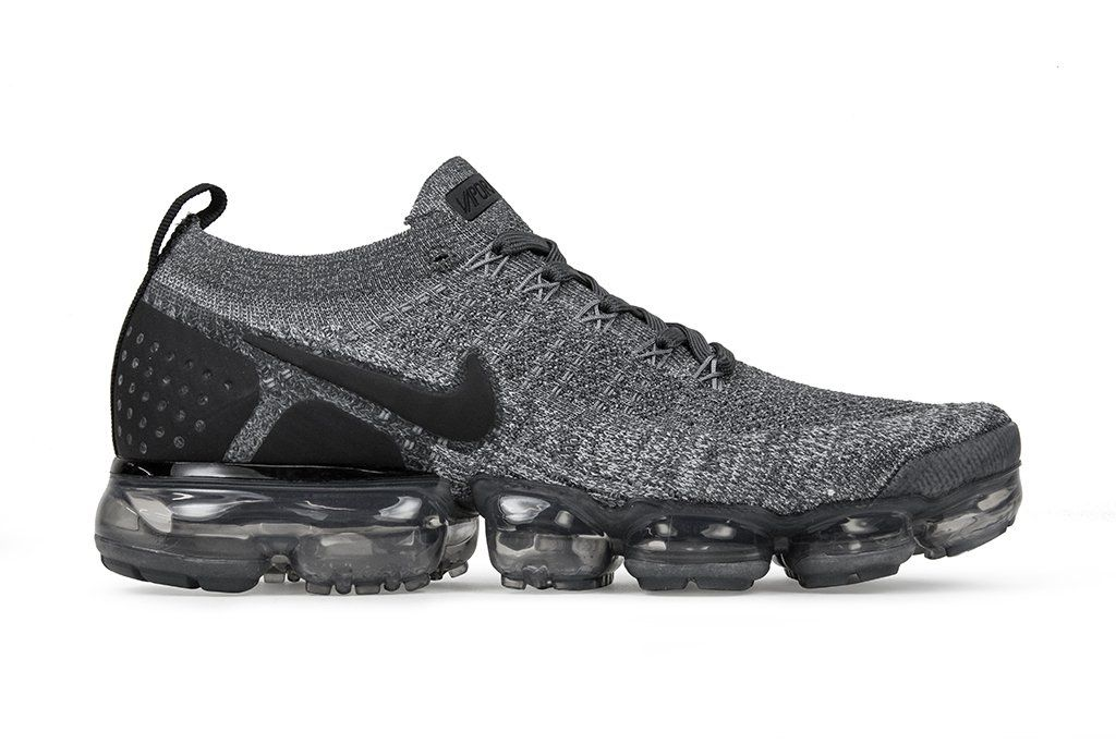 f38542aed4d1 Nike Air VaporMax Flyknit 2 - Dark Grey Black-Wolf Grey Black – Feature  Sneaker Boutique