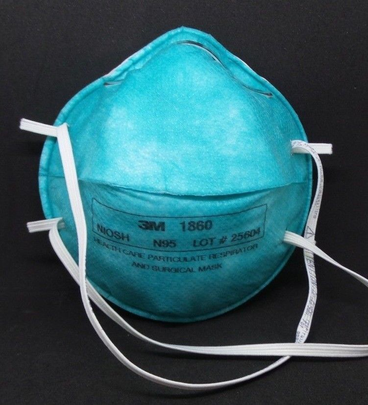 1860 3m particulate respirator and medical masks n95
