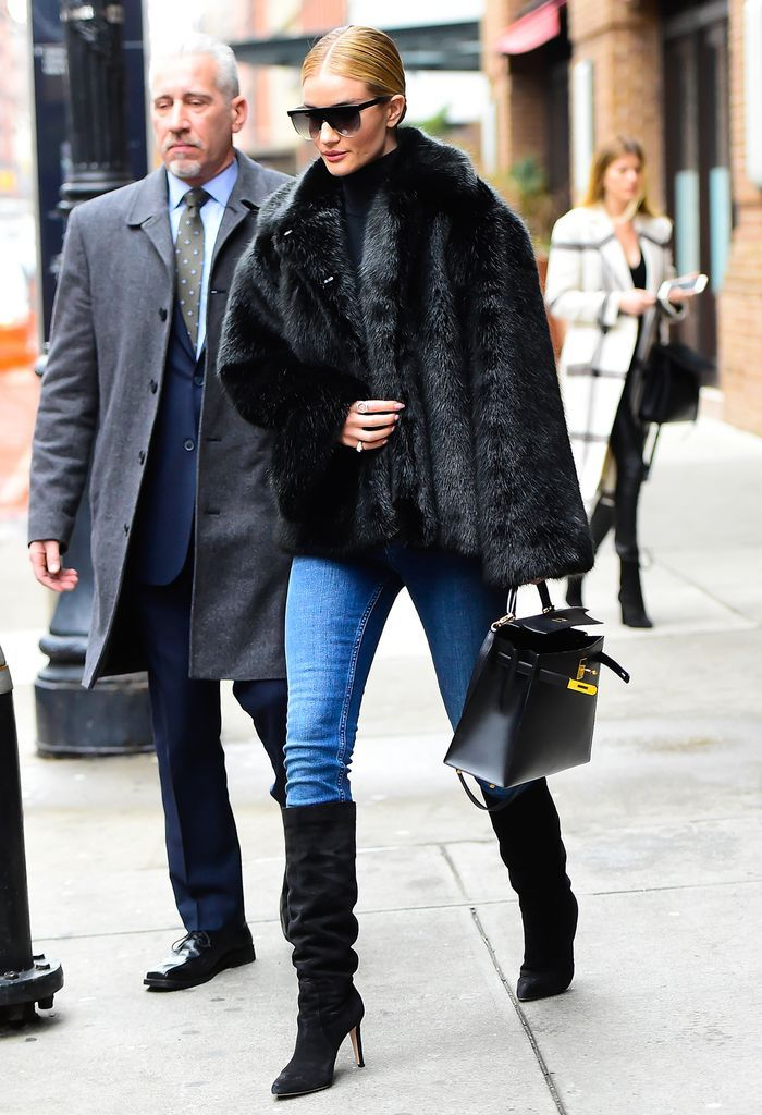 8 Celebrity Jean-and-Boots Outfits We All Need to Copy