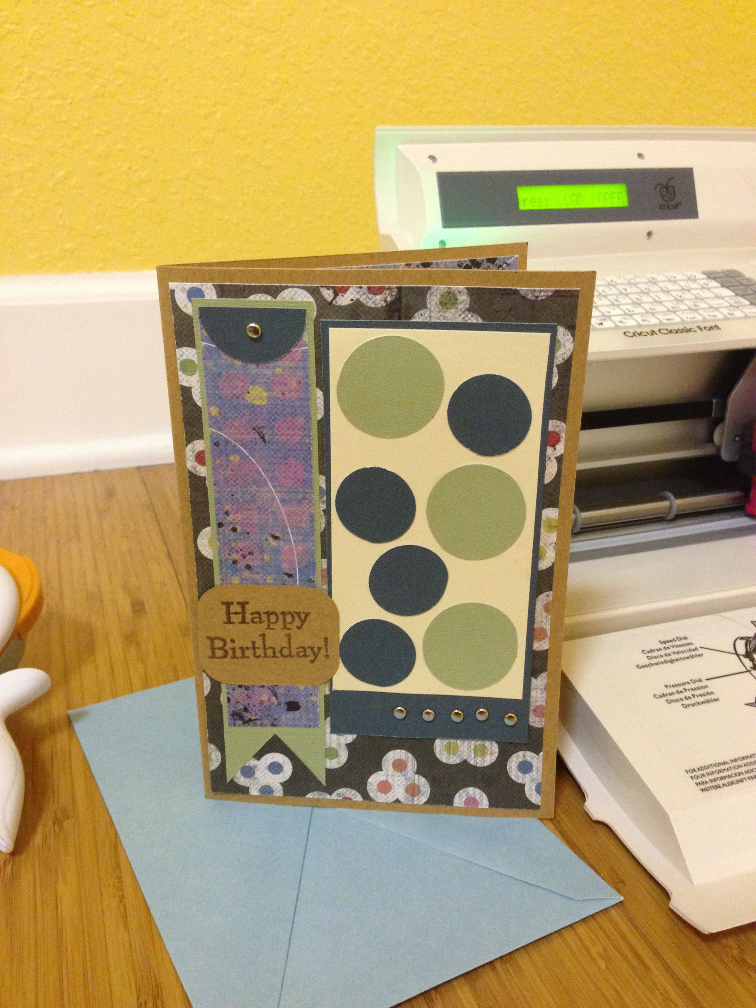 Homemade birthday card handmade cards pinterest homemade