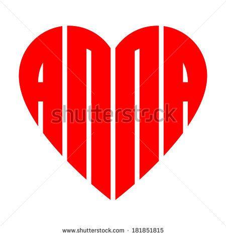 Name Logo Image Anna Name Logo