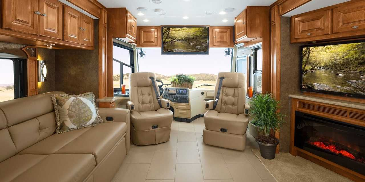 Luxury rv interior - Rays Manager Joe Maddon Is Touring The Country In This 300 000 Luxury Rv