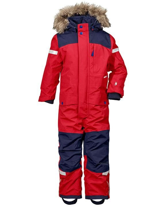 bfd008ea150f Didriksons Kids Bjornen Coverall - Red