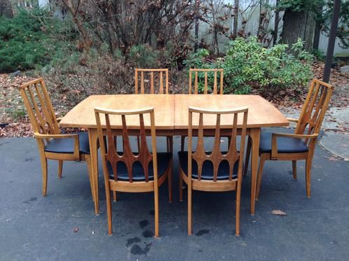 Broyhill Brasilia Dining Table And 6 Chairs For Sale