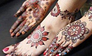 Motif Henna Tangan Sederhana Gambar Henna Tangan Simple Henna Tangan