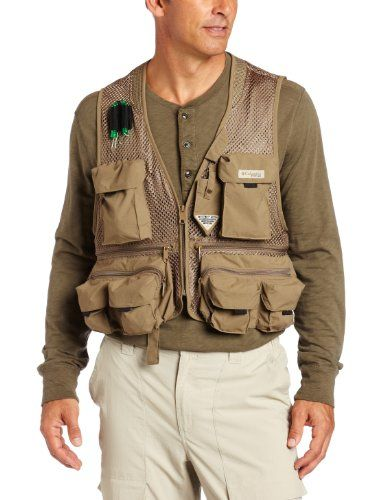 b8528b091fc46 Notice the mesh in this summer weight fishing vest.   Fishing Vests ...