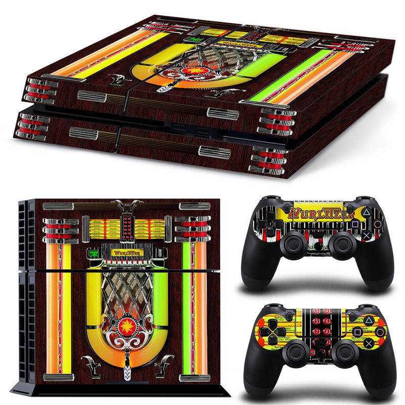 Details about Ps4 Playstation 4 Console Skin Decal Sticker