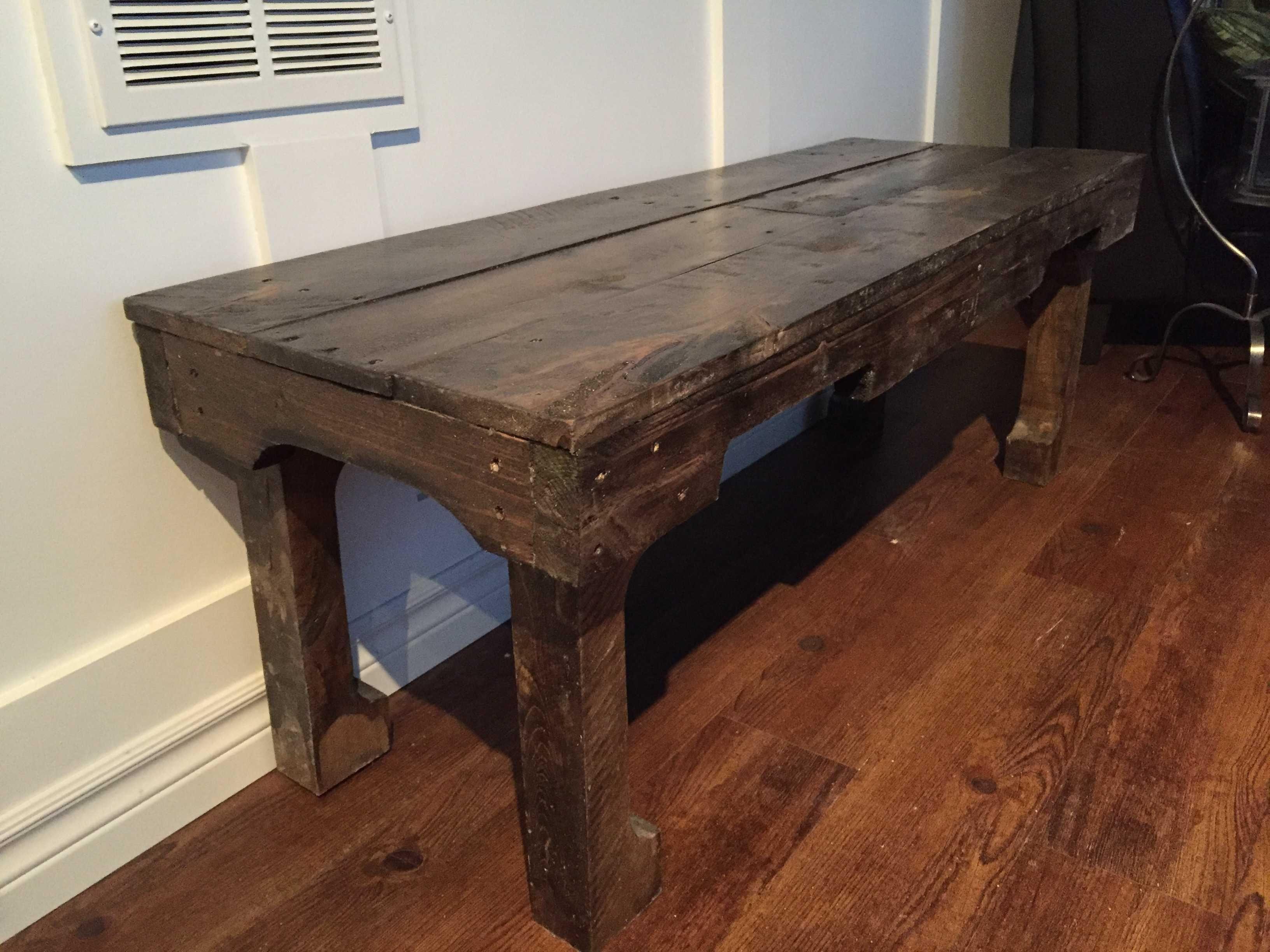 A Dark Walnut Extra Long Coffee Table 1001 Pallets Long Coffee Tables Coffee Table Coffee Table Design [ 2448 x 3264 Pixel ]