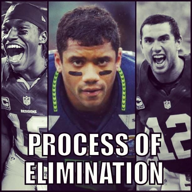 RG3 Lost. Luck Lost. Russell Wilson Is The Only Rookie Who