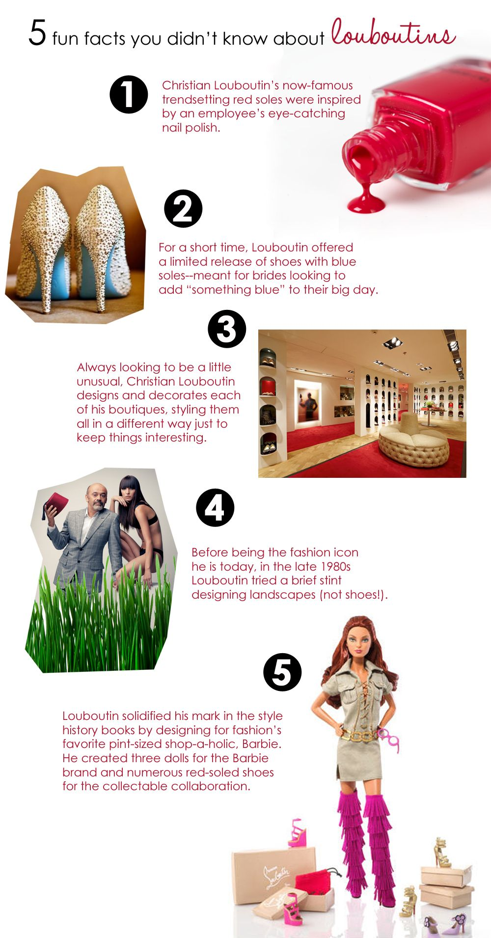 5 fun facts you didn't know about Louboutins | Facts and Hacks