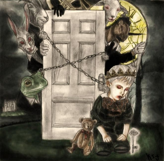 See You On The Other Side By Towersoflondon On Deviantart Art Painting The Other Side