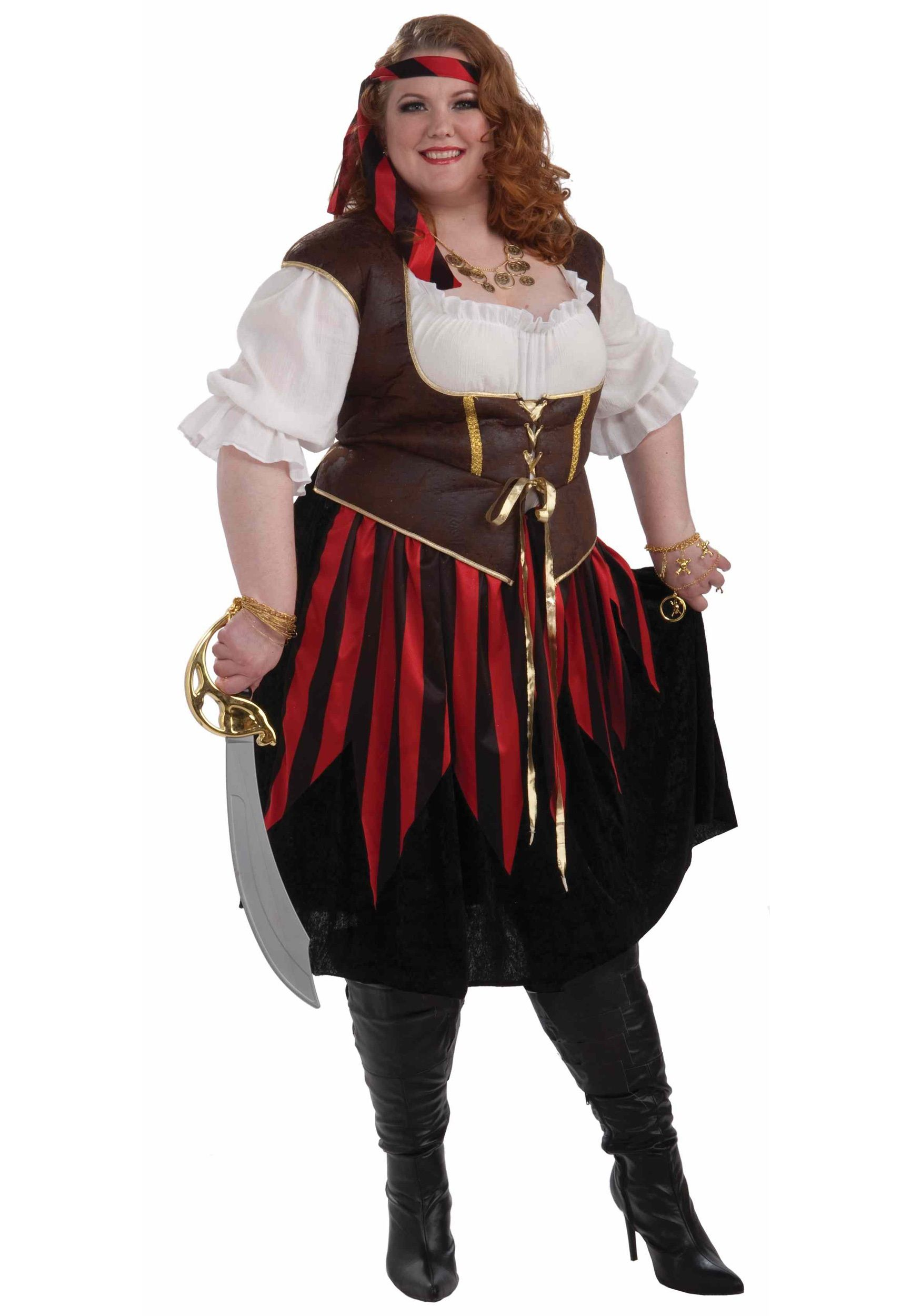 plus size pirate lady costume - Halloween Costume Plus Size Ideas