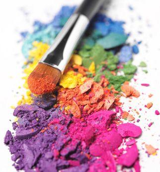 Rainbow   Arc-en-ciel   Arcobaleno   レインボー   Regenbogen   Радуга   Colours   Texture   Style   Form   crumbled   brush   eyeshadow