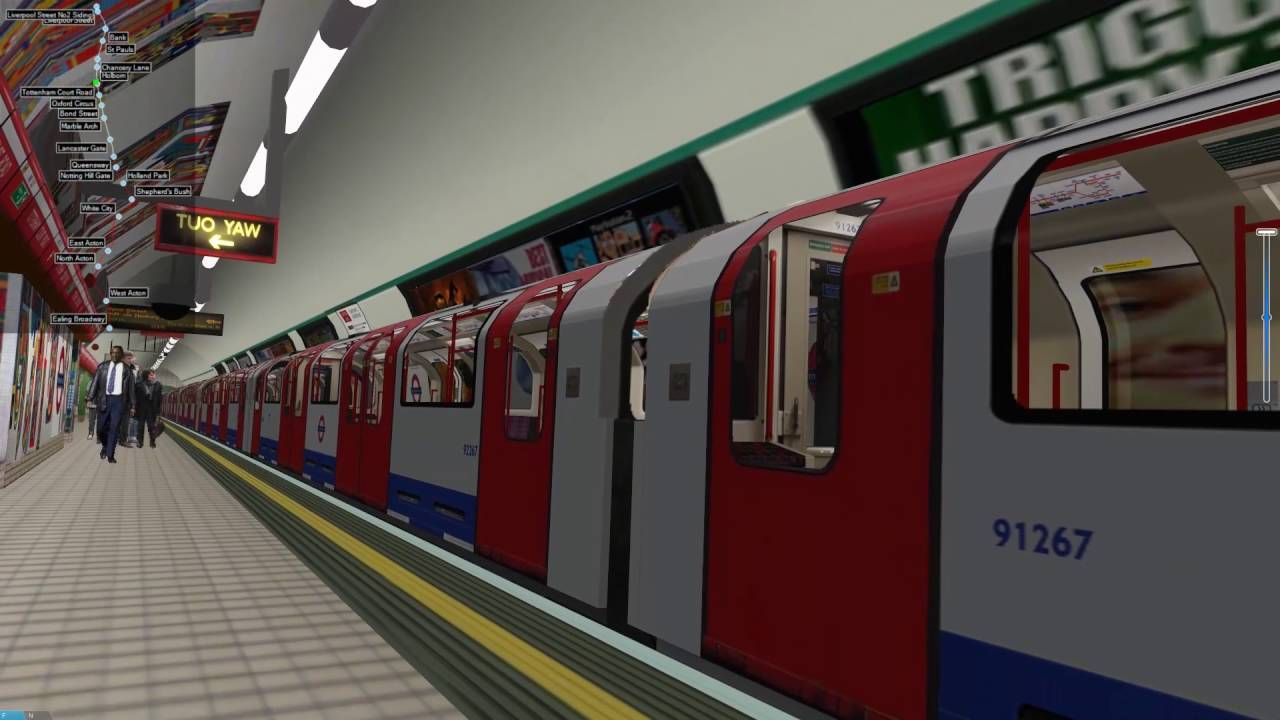 Free London Underground Simulation With Openbve For Pc