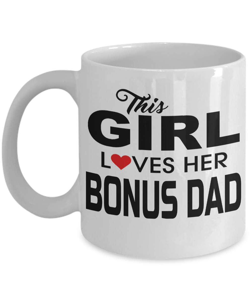 11 Oz White Mug Step Dad Wedding Gifts Step Dad Gifts