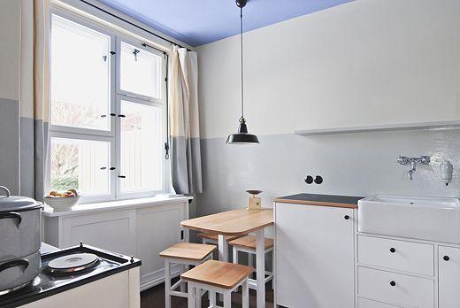 Tautes Heim Haus, Kitchens and Bauhaus - küche ohne oberschränke