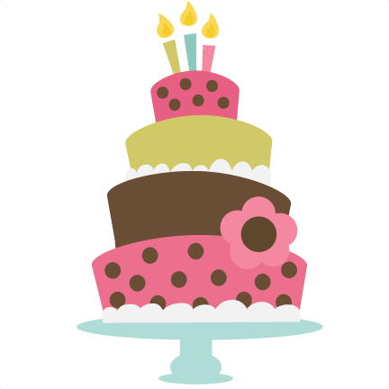 Birthday Cake Svg Cut File For Cutting Machines Birthday Cake Svg