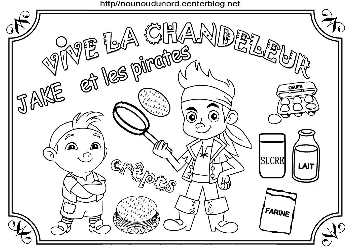Liste De Mes Coloriages Sur La Chandeleur Et Les Crepes