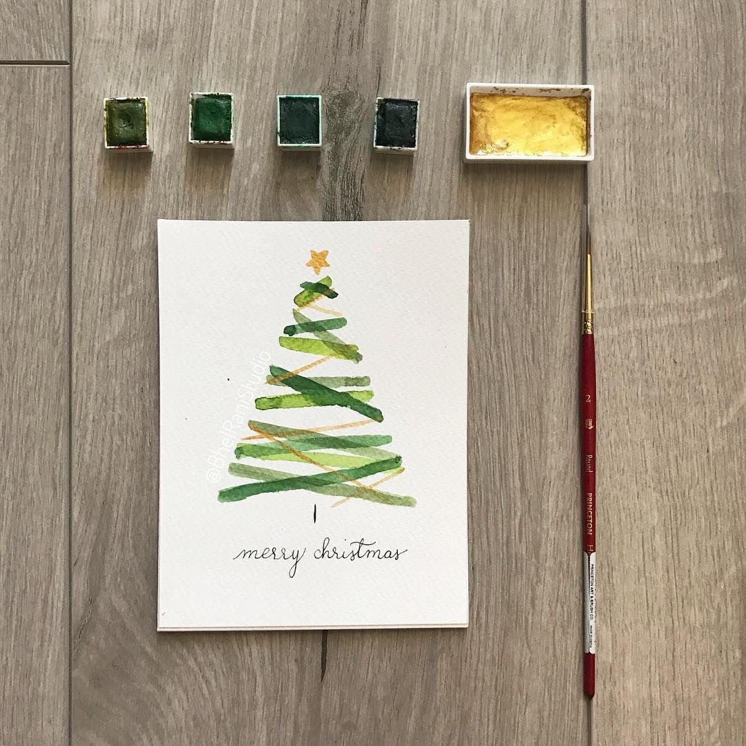"BhelRani Studio on Instagram: ""I received so much love for these holiday cards that I am going to film a live video tomorrow (Sunday) morning. Watch my stories for more…"""